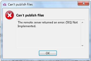 error 501