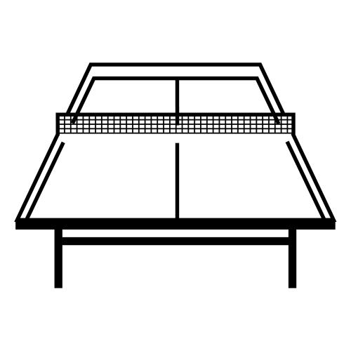 Tischtennis Ausmalbilder