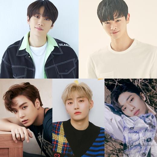 "Lee Jun Young, Jang Dong Ju, Nu'est JR, Yoon Ji Sung , and Kim Dong Hyun Confirmed for SBS Drama ""I'll Be Your Knight"" as a Flower Boy Band"