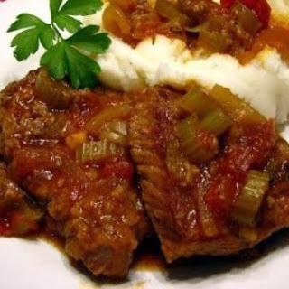 Swiss Steak With Tomato Sauce Recipes.
