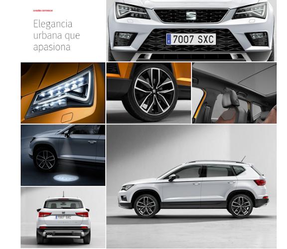 SEAT ATECA: Amplia gama de motores gasolina & diésel