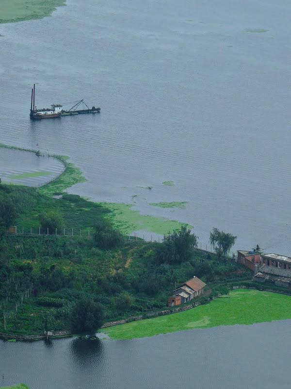 CHINE.YUNNAN.KUNMING , temple Lac Dian Chi - P1270747.JPG