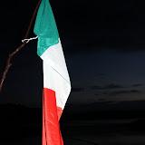 Flaga Włoch.