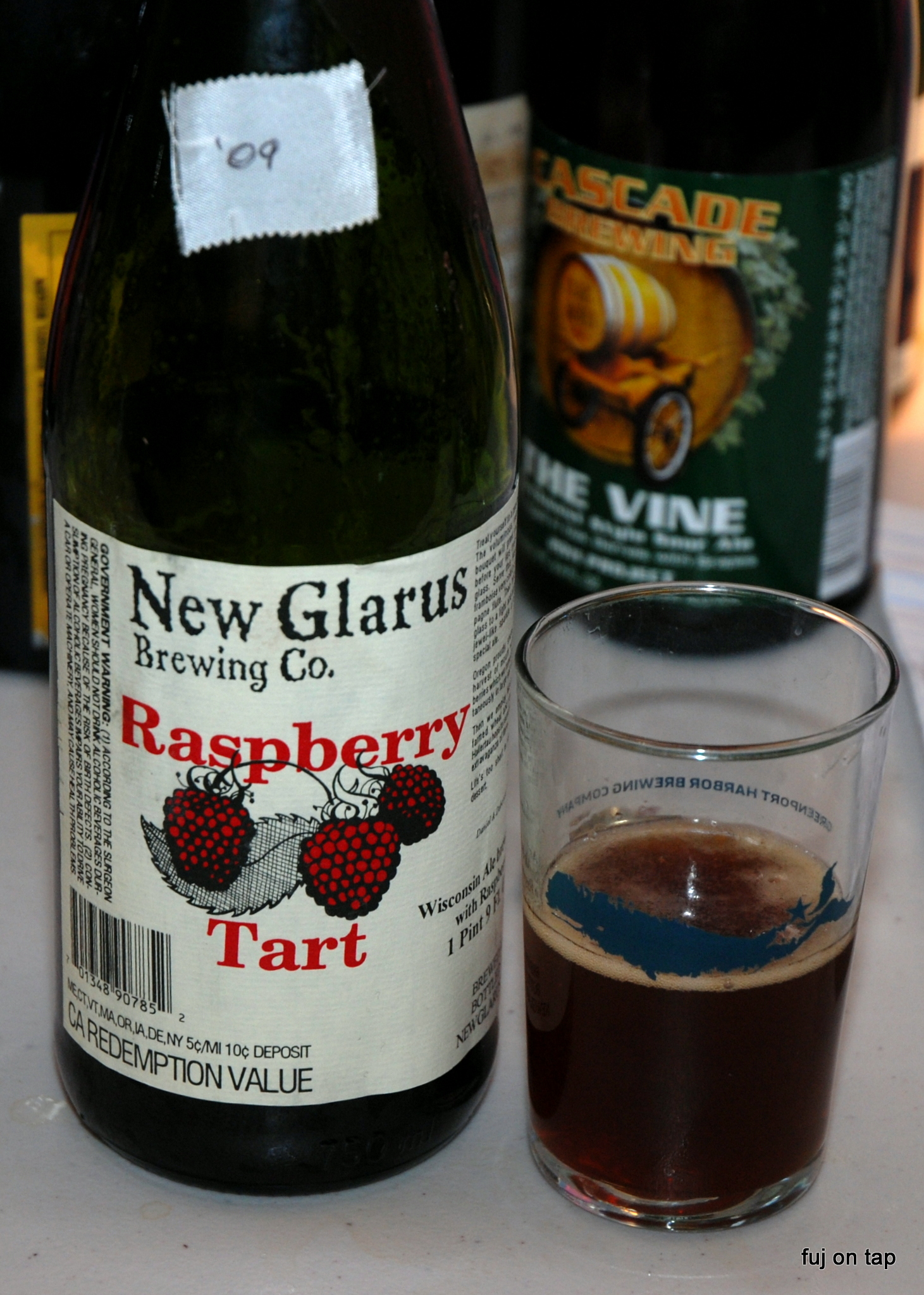 2009 New Glarus Raspberry Tart