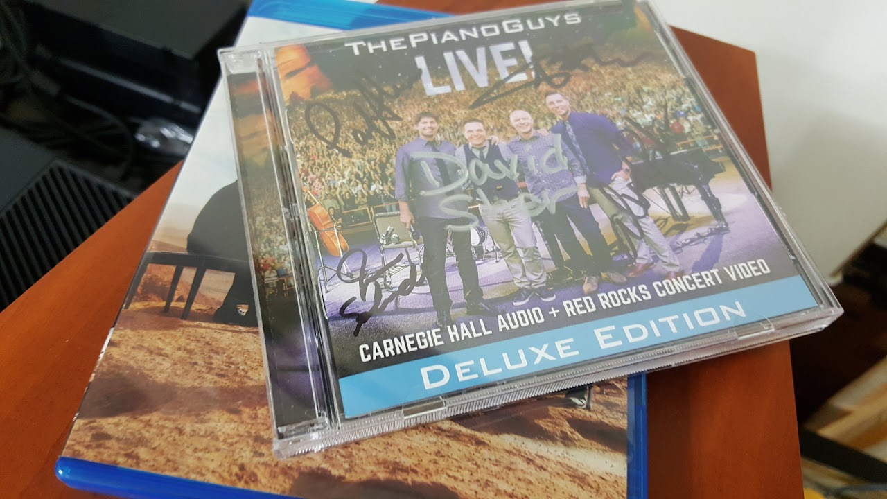 [ThePianoGuys] The Piano Guys LIVE! 給大衛的簽名CD