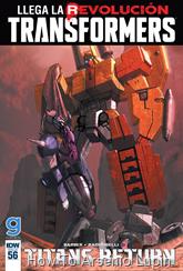 Actualización 19/12/2016: The Transformers #56, traducido por ZUR, revisado por Rosevanhelsing y maquetado por Wolfirex.