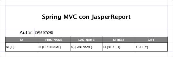 reporte jasper con spring