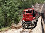 Der entgegenkommende Zug