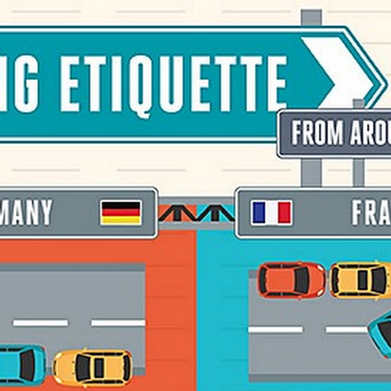 INFOGRAPHIC: DRIVING ETIQUETTE AROUND THE WORLD