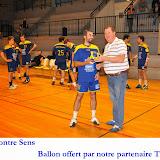 Seniors masculins 2 contre Sens 20-10-12