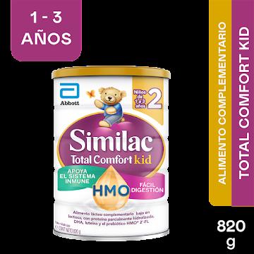 Formula Infantil Similac Etapa 2 Total Comfort Eye Q Plus 1-3Años x 820Gr