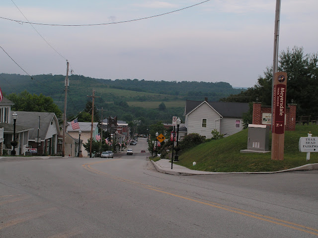 Down to Meyersdale from GAP