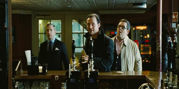 Screen Shot Of Hollywood Movie The World's End (2013) Download And Watch Online Free at Alldownloads4u.Com