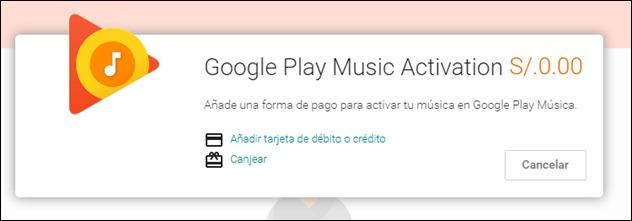 Abrir mi cuenta Google Play Musica - 7