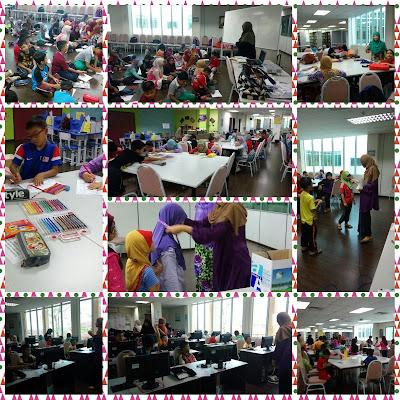 Aktiviti Cuti Sekolah di Perpustakaan
