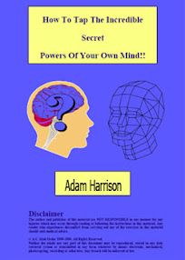 Cover of Adam Harrison's Book How To Tap The Incredible Secret Powers Of Your Mind