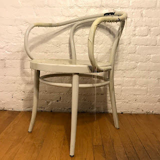 Drip Decorated Thonet B9 Style Chair