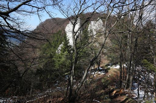 Skaly na hrebeni Šípu