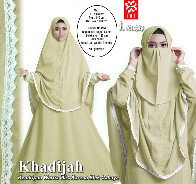 Miftah shop distributor supplier tangan pertama baju Baju gamis cadar