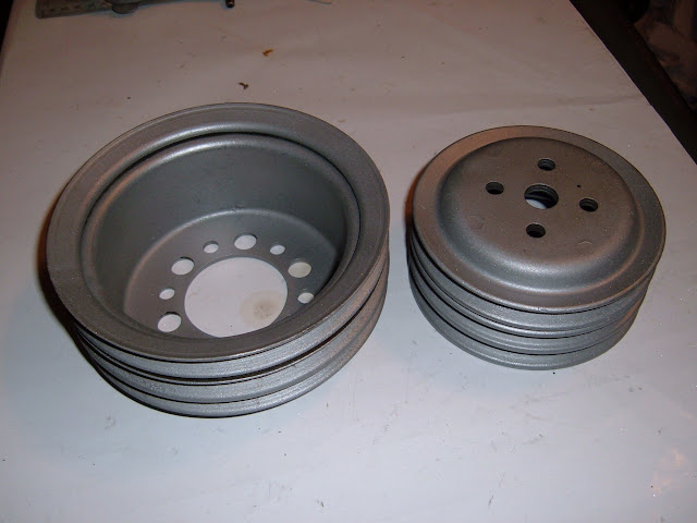 1962-66 401-425 stock 3 groove pulleys. call