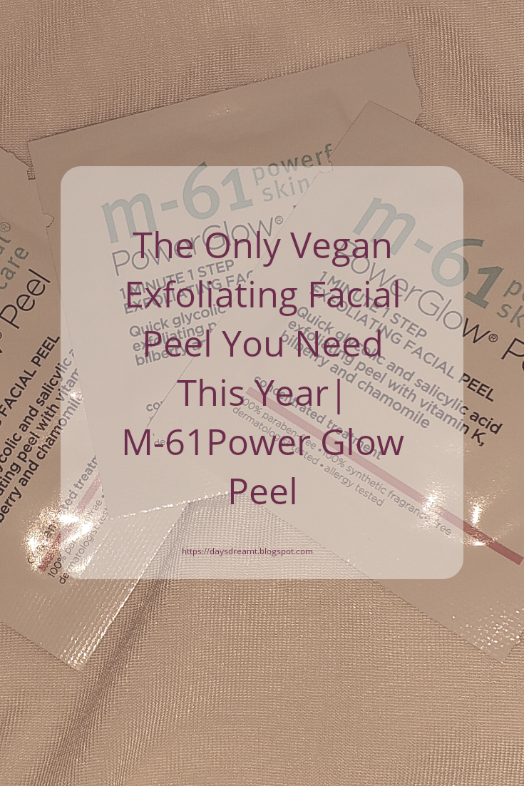 Pinterest image m-61 power glow skincare