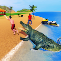 Crocodile Simulator 2019: Beach & City Attack APK