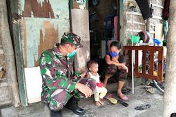 Babinsa Desa Joyotakan Kiramil 03/Serengan Kodim 0735/Surakarta, selalu hadir ditengah-tengah masyarakat