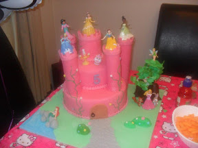 5th Birthday Castle Cake
