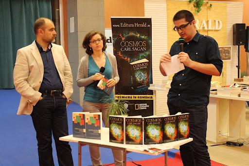STIINTA: despre Cosmos si Natura umana - Bookfest 2014