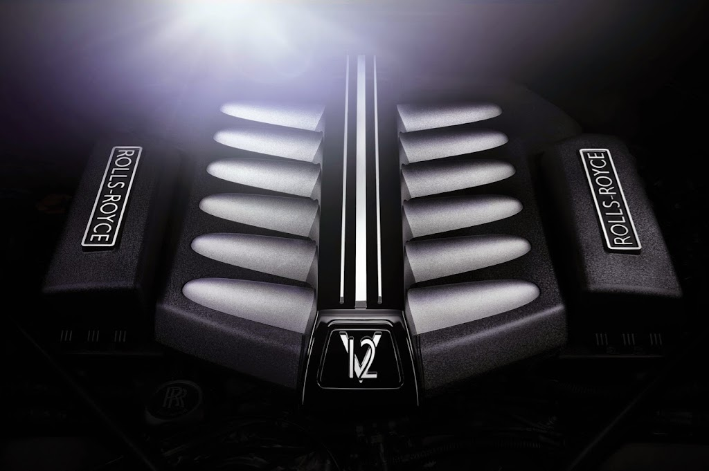 Rolls-Royce Ghost V-Specification Engine