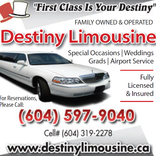 Destiny Limousine Ltd: The Best Choice for Vancouver Limo Wedding Services with A+ Rating