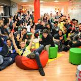 Berzsenyisek az Ericssonban (diáklátogatás)