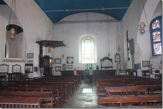 Форт Галле, церква