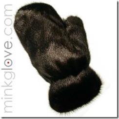 Thunderball mink glove