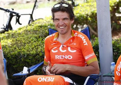 """Il n'a manqué que la victoire à Van Avermaet sur le Tour d'Oman: """"Je ne vais pas me plaindre"""""""