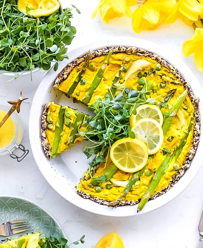 Asparagus Quiche Recipe | Breakfast Care