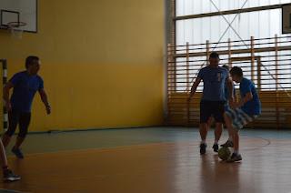 Turniej Futsalu o Puchar Dyrektora Zespołu Szkół w Trzebieży 2016.11.05