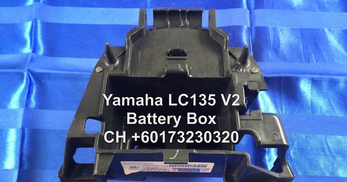 Ch Motorcycle Store Yamaha Lc135 V2 Battery Box