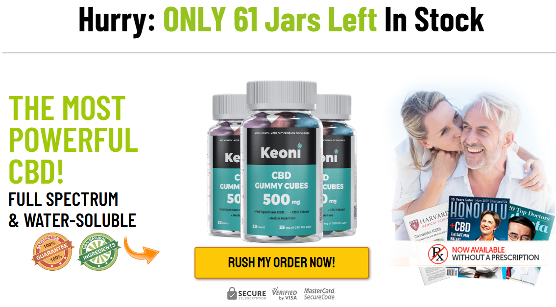 Keoni CBD Gummy Cubes Review, Ingredients, Benefits, Uses, Work and Where  to Buy?   homify