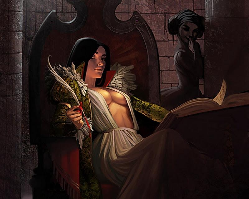 Lady Writing Blood, Wicca Girls