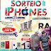 SORTEIO DE IPHONES POR APENAS 10,00 DIA 29 DE OUTUBRO NO GLOBAL CLUBE EM PEDREIRAS