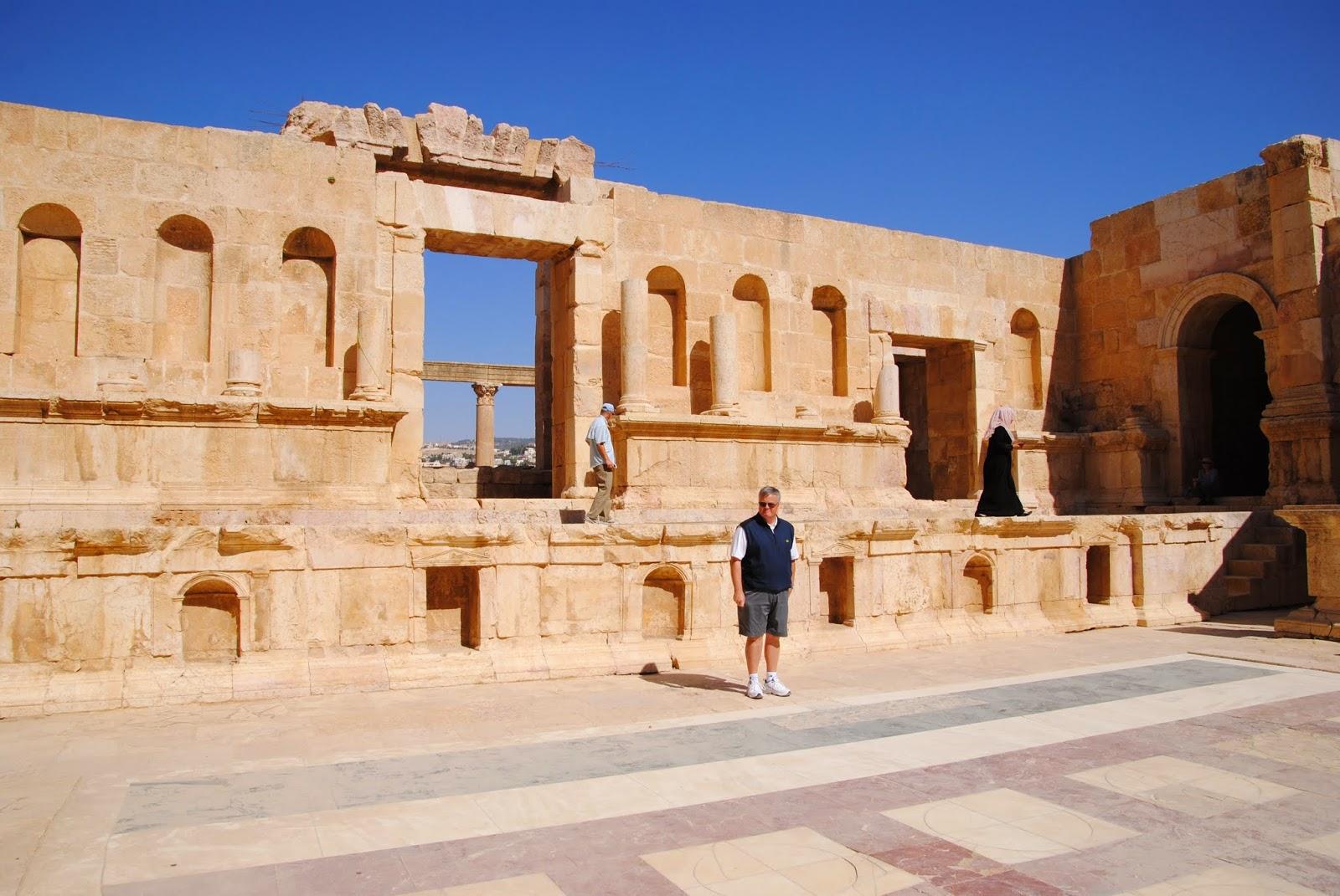 My Photos: Jordan -- Jerash -- The North Theater