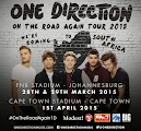 One Direction : On the road again concert 2015 - JHB