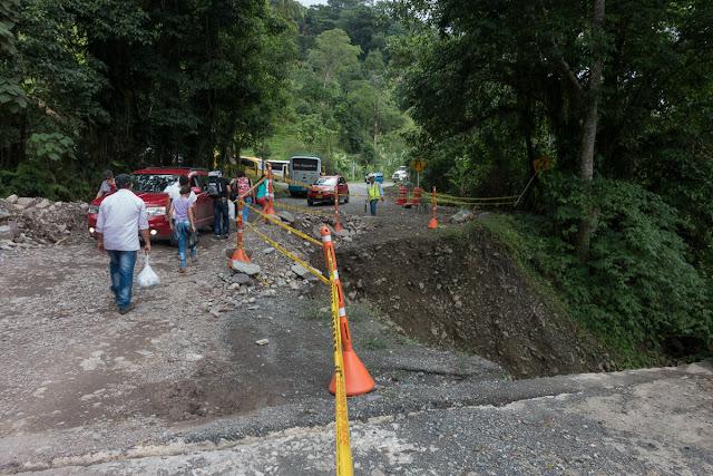 Piste près de Santa María en Boyacá, 890 m (Boyacá, Colombie), 18 novembre 2015. Photo : C. Basset