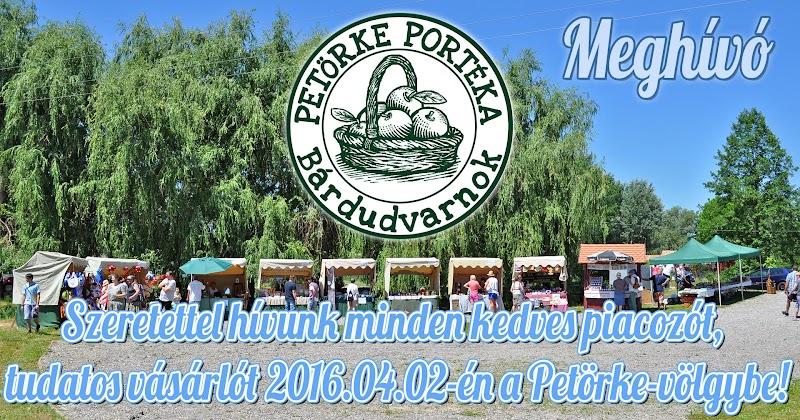 Petörke Portéka helyi piac 2016 április 02