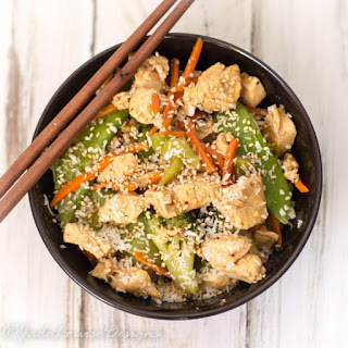 Easy Sesame Chicken Stir-fry Recipe low carb option
