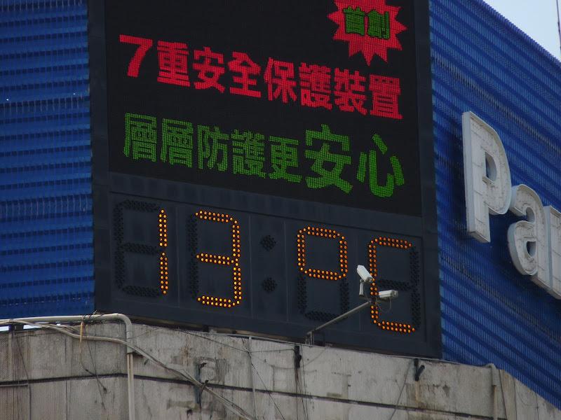 Taipei 14 janvier 2009 vers 13.00 heures