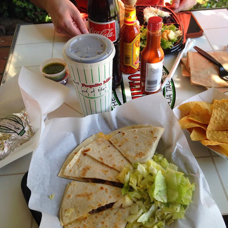 Poquito Más, Mexican food