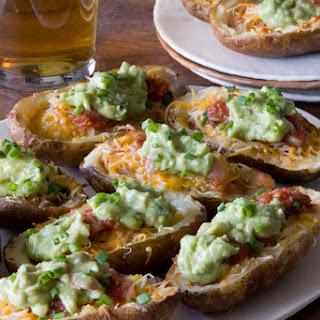 Nacho Loaded Potato Skins Recipe