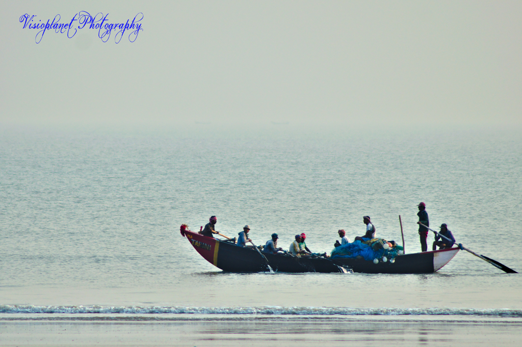 Boat Friday by Sudipto Sarkar on Visioplanet